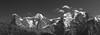 EigerMönchJungfrau (EP Diederiks) Tags: switzerland schweiz eiger mönch jungfrau jungfraujoch bern berner oberland bernese glacier mountains bergen berge clouds summer sommer black white lauterbrunnen mürren wengen hiking wandern alpen alps peak landscape sky