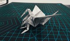 (╥_╥) (guangxu233) Tags: origami origamiart paperart paperfolding paper art 折纸 折り紙作品 折り紙