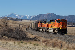 BNSF 8545 Greenland 17 Mar 18 (AK Ween) Tags: bnsf bnsf8545 emd sd70ace greenland colorado jointline pikespeak rampartrange greenlandopenspace train railroad