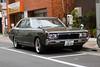 1973 Nissan Laurel (ColinParte) Tags: nissan laurel 1973 tokyo vintage chrome styling asakusa automobile car classic