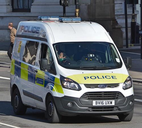 Metropolitan Police Ford Transit Custom 330 Eco-TE