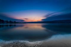 lac (Filip42) Tags: sunset lake lac jura mountains ice cold freeze winter cloud longexposure