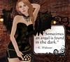Ms. Lilly is a Dark Angel (enchantrixlilly) Tags: femdom mistress bdsm domme secondlife sl ldw enchantrixempire