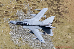 RAF Tornado Gr4 flying training in LFA7 (JetPhotos.co.uk) Tags: aviation bobsharplesphotography defence hills lfa7 lowflying lowflyingarea7 mountains roundabout snowdonia valley valleys wales welsh aircraft training raf tornado gr4 royalairforce wwwjetphotoscouk 035 za542 uk