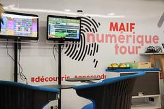 MAIF Meuse Tour à la Fete de l'Internet à Bras 24/3/18