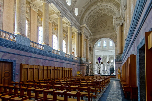 Interior of St. Blasien Abbey, St. Blasien