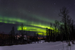 Northern Lights (danielusescanon) Tags: night star snow auroraborealis northernlights wasilla alaska