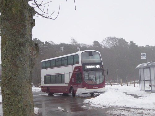 Repainted 399 at Balerno on the 44