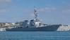 USS Ross departing Devonport Dockyard UK (pauljb_1956) Tags: usn warship devonport ussross