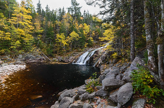 Autumn Surrounds Mary Ann Falls (Cape Breton Highlands National Park)