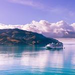 Sun Princess in Akaroa Harbour thumbnail