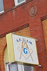 Masonic Temple, Salisbury, MD (Robby Virus) Tags: salisbury maryland md masons freemasons masonic temple lodge sign signage fraternal organization wicomico centennial scottish rite