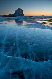 The Sea of ice- Baikal Lake