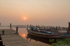 Myanmar-20180322-0683 (ShaneAndRobbie) Tags: amarapura mandalayregion myanmarburma mm myanmar burma mandalay ubein bridge sunrise