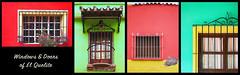 windows & doors of el quelite - pt 4 (rockinmonique) Tags: windows doors elquelite mexico sinaloa collage maztlan colour bright moniquew canon canont6s tamron tamron45mm copyright2018moniquewphotography