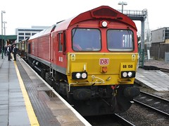 20180310 - 7100 - UK Railtours & DB Cargo UK - The Valley of the Witch - 66150 (& 66230) - 0706 Paddington to Onllwyn Washery - Reading (Paul A Weston) Tags: ukrailtours dbcargouk reading thevalleyofthewitch 66150 66230 0706paddingtontoonllwynwashery