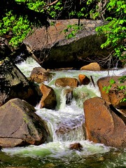 Wild River (moonjazz) Tags: water nature waterfall california wilderness flow beauty photography merced yosemite spring natural rocks hiking rapids stream river
