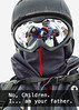 NO, Children. I am your father  14/52 (rmrayner) Tags: week14 quotograph darthvader reflection 52weeksthe2018edition 1452 skiing starwars helmet goggles wintersports