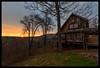 Virginia Sunset (Josh Joyce) Tags: collierstown virginia lexington sunset dusk evening landscape rural rustic house