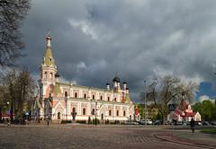 Grodno. (Zmicer_belarus) Tags: grodno cathedral church city belarus sky