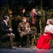 L to R Martin Carroll, Tom Kay Jeffery Harmer & Madeleine Knight  in BIRDSONG. Credit Jack Ladenburg