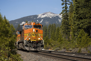 BNSF at Almanor Siding