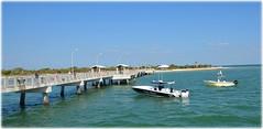 Fort De Soto Gulf Pier - St Petersburg, Florida (lagergrenjan) Tags: fort de soto gulf pier st petersburg florida boats fishing