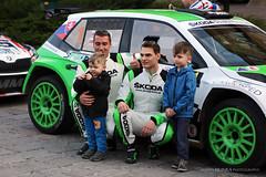 Martin Koči - Radovan Mozner jun. (Martin Hlinka Photography) Tags: rally prešov 2018 slovakia slovensko sport motorsport canon eos 60d tamron 2875mm f28 škoda fabia r5 martin koči radovan mozner jun