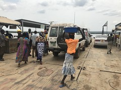 Obongi_ferry (FAO Forestry) Tags: fao un uganda refugees unhcr world bank environment energy south sudan woodfuel forestry