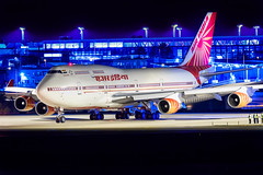 VT-EVB Boeing 747-437 Air India (Andreas Eriksson - VstPic) Tags: airindia1 is about depart with indian prime minister narendra modi london vtevb boeing 747437 air india