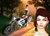 LuceMia - The Darkness Monthly Event (MISS V♛ ITALY 2015 ♛ 4th runner up MVW 2015) Tags: thedarknessmonthlyevent secondlife sl new creations moto motorcycle bravis rider giuliadesign merien outfit event mesh blog beauty models lucemia