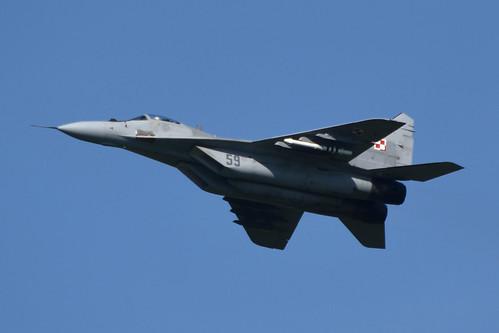 59 MiG-29A Polish Airforce @ Leeuwarden 19-Apr-2018 by Johan Hetebrij