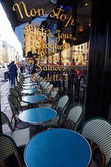 Ready for Lunch (Gary Burke.) Tags: restaurant dining iledefrance architecture touristattraction travel wanderlust tourism paris france vacation citylife cityliving urban city traveling europe european klingon65 garyburke urbanphotography travelphotography citystyle french sony a6300 mirrorless sonya6300 cityoflights outdoor building parisian îledelacité citystreets sidewalk sidewalkdining outdoordining 1starrondissement goodeats chairs tables seating glass text window people parisdining frenchrestaurant frenchdining terrace