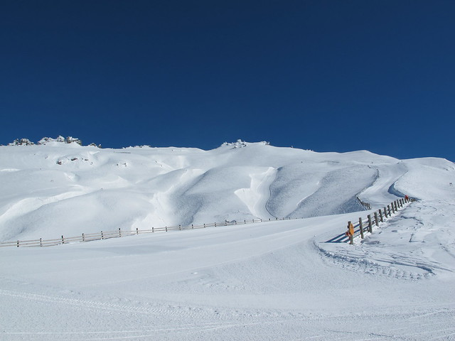 Saddle untouched andTreble Cone, Wanaka, NZ 39 minutes ago   Home Basin resembling it's true self aga awaiting its visitors