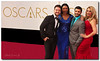 Four journalists at the Oscars (Elliott Cowand) Tags: theredcarpet theacademyawards theoscars hollywoodwalkoffame hollywood california theunitedstates motionpictures celebration journalists copyright allrightsreserved elliottcowandyahoocom elliottcowand people losangeles tinseltown ceremony movies awards hollywoodblvd hollywoodboulevard academyofmotionpicturesartsandsciences gown suit red blue thedolbytheatre television news reporter