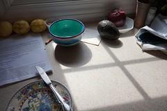 20180314 kitchen idyll, late afternoon (pix-l) Tags: kitchen stilllife sonya5000 sel20f28 lemon avocado redonion