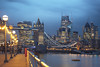 Tower Bridge (www.javierayala-photography.com) Tags: london londres england gherkin buildings unitedkingdom uk blue sunset towerbridge londonbridge thames