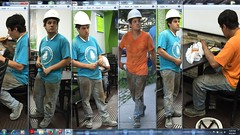 LIC Hispanic Construction Worker 1 Collection 1 (07.21.2015) (08.05.2015) (08.06.2015) (panterllica) Tags: constructionworker hispanicguy workboots boots hardhat