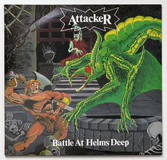 A0539 ATTACKER Battle At Helms Deep (vinylmeister) Tags: vinylrecords albumcoverphotos heavymetal thrashmetal deathmetal blackmetal vinyl schallplatte disque gramophone album