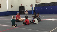 """Paul Shows His Muscles at His Last Basketball Practice • <a style=""""font-size:0.8em;"""" href=""""http://www.flickr.com/photos/109120354@N07/26050337987/"""" target=""""_blank"""">View on Flickr</a>"""