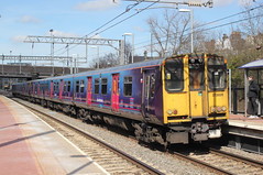 GoVia Thameslink & Great Northern . 313026 . Alexandra Palace Station , North London . Wednesday 21st-March-2018 . (AndrewHA's) Tags: railway train alexandra palace station govia thameslink greatnorthern class 313 electric multiple unit emu 313026 2j54 letchwoth moorgate hertford loop stopping passenger service inner suburban brel york works
