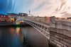 Ha'Penny from day to night. (Giuseppe Pipia) Tags: canon canondslr canonphotography canonphoto canon70d canonphotos teamcanon tokina tokina1116 triggertrap timelapse time slice bridge architecture architettura sunset tramonto liffey dublin dublino ireland irlanda travel travels traveling travelphotography travelers traveler viaggio viaggi viaggiare viaggiatore viaggiatori nature natura cloud clouds cloudy nuvole nuvola nuvoloso blue teal orange warm europa europe european europeo ruver river fiume seagull gabbiano