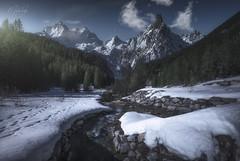 Savoie ou bien ? (Mathulak) Tags: savoie france montagne rivière mathulak neige reinedesneiges