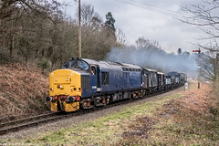 37688 at Northwood Lane 24.03.18 (Wolfie2man) Tags: d05preservation do5preservation class37 bewdley severnvalleyrailway northwoodlane 37688