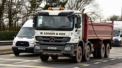DK62 WTP (Martin's Online Photography) Tags: mercedes actros mp3 tipper truck wagon lorry vehicle freight haulage commercial transport a580 leigh lancashire nikon nikond7200