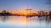 Quay Sunrise (nicklucas2) Tags: christchurch quay river stour sunrise sun flare