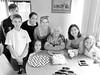 Happy Birthday to me (crafty1tutu (Ann)) Tags: birthday happybirthday birthdaycake family iphonephoto