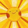Sunshine / Illustration. (Old Paper Perfume) Tags: sol sunshine sun yellow amarillo rayodesol cute sweet illustration dibujo draw colorful colorido day feliz happy smile sonrisa