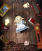 Sylvanian Families - Alice in Wonderland (Sylvanako) Tags: toy toys figure alice photoshop wonderland aliceinwonderland rabbithole fantasy toyphotography fairytale sylvanian families