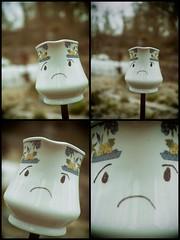 Sad (Yo Gui) Tags: art tasse triste sad angers maison environnement vintage multi objectif
